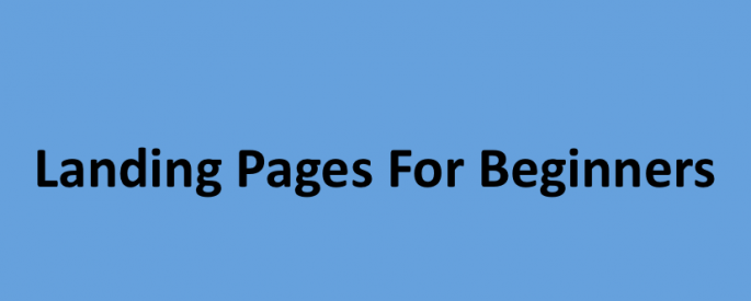 Strategies for Landing Pages